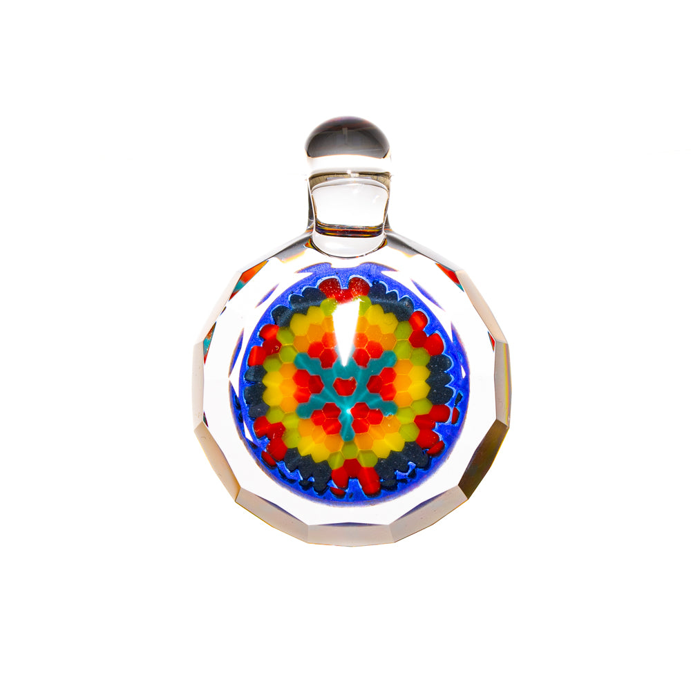 Certo x Pat Taylor Faceted Rainbow Pattern Pendant #1