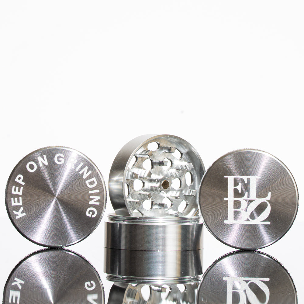 Elbo - Silver Luxury Small Grinder