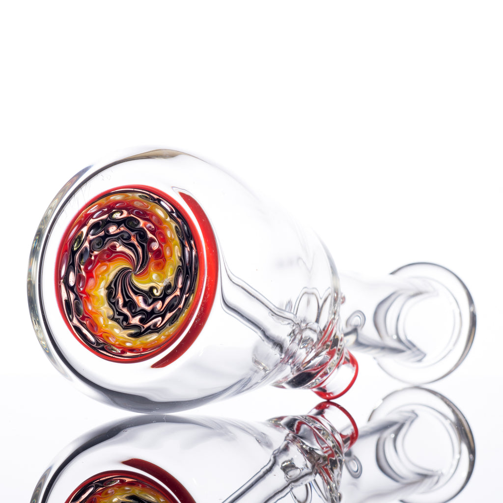 Glass By Bures - Mini Beaker Red Bottom