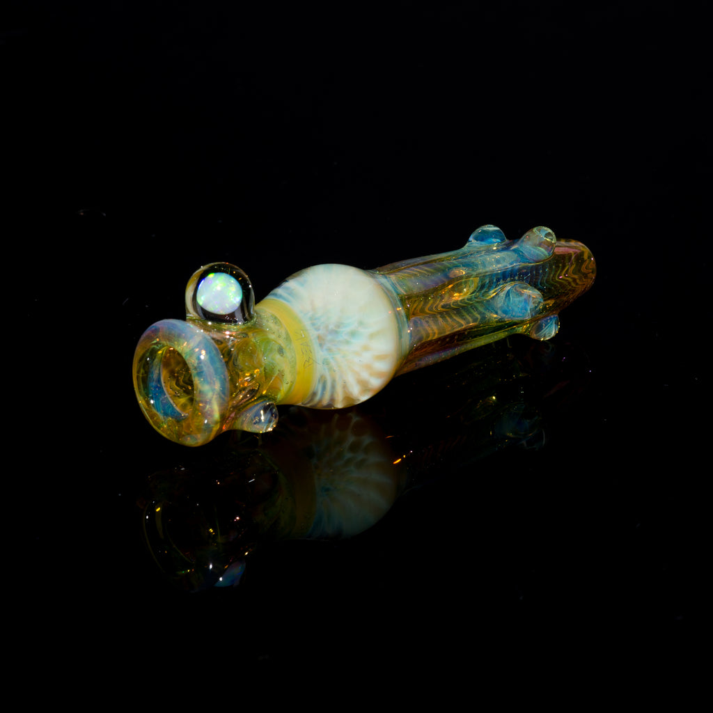 Gonzoe X Beak Fumed Honeycomb Chillum