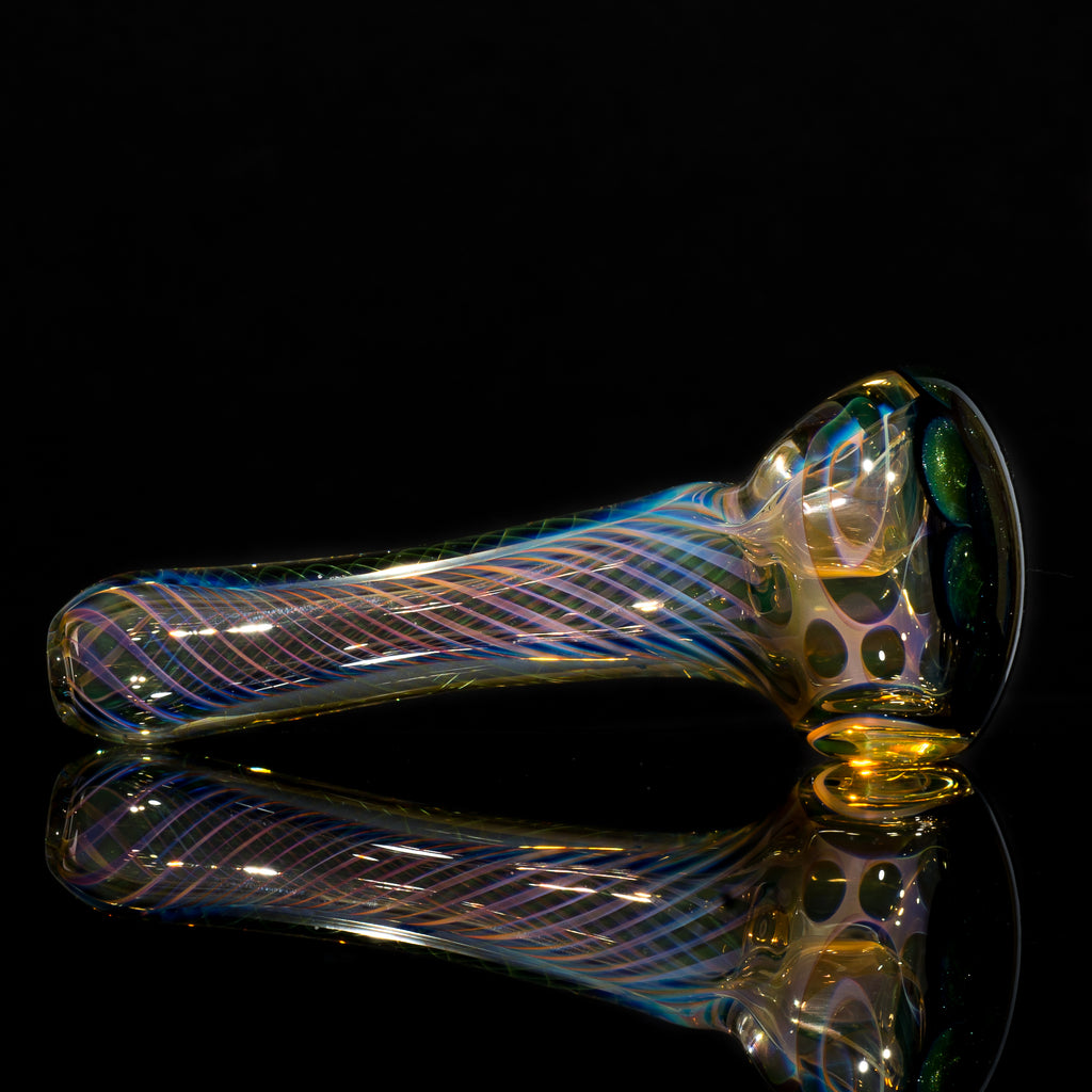 Matt 2000 Fumed Inside Out Dotstack Spoon Olive