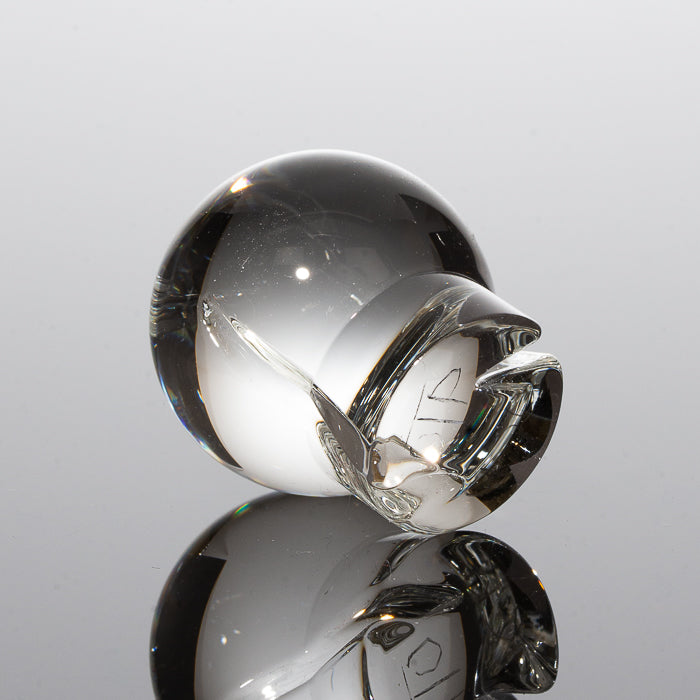 One Trick Pony - Clear Marble Spinner Cap