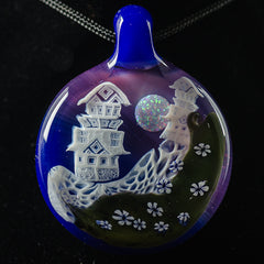 Piper Dan Ghost Castle Pendant 3
