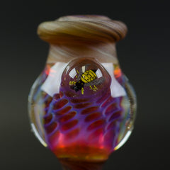 Plug A Nug x Ford20 Beehive Tree Dabber Honeycomb  Bubble Cap Set