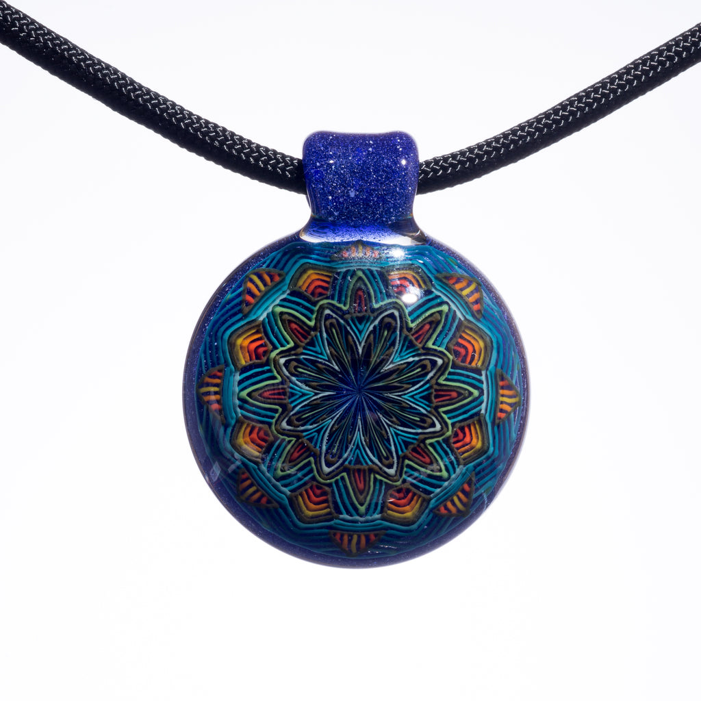 Reed Blue Blizzard Ball Pendant #2