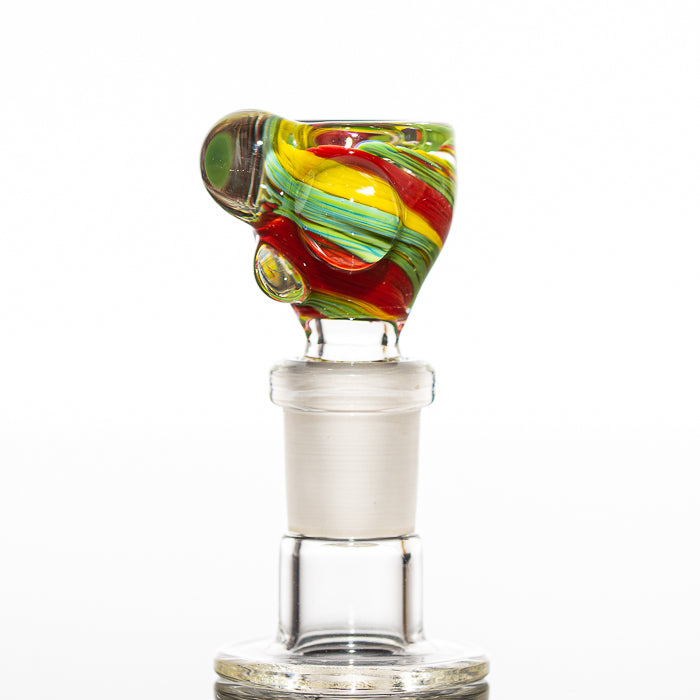 Reedo Glass - Rasta 14mm Slide