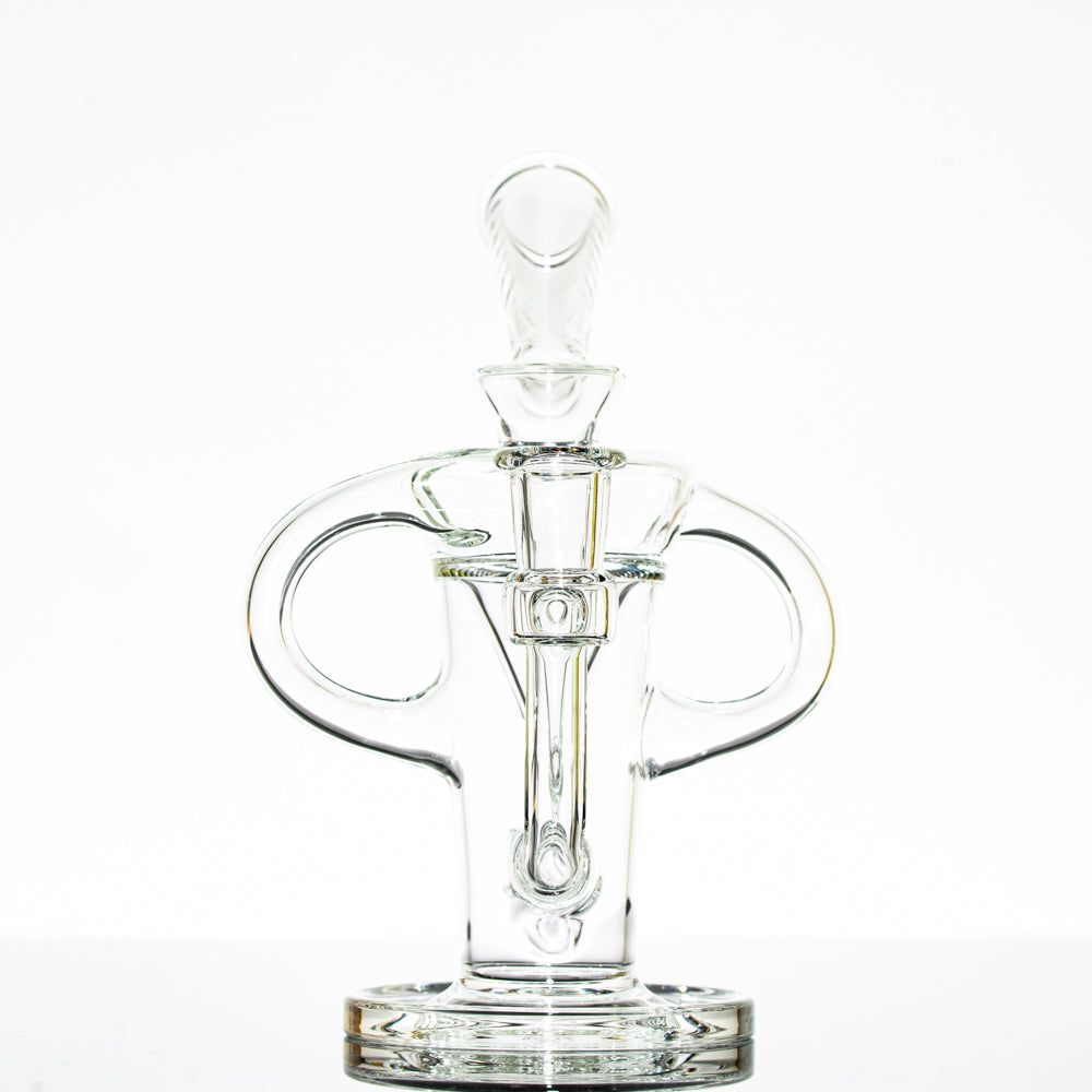 Stevie P - Clear Double Uptake Klein Recycler