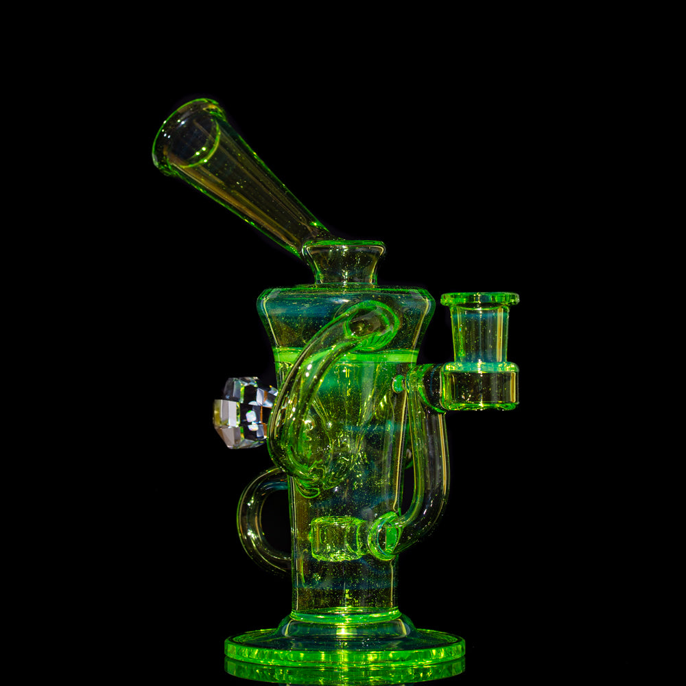 Stevie P - Slyrm Fully Faceted Double Uptake Klein Recycler