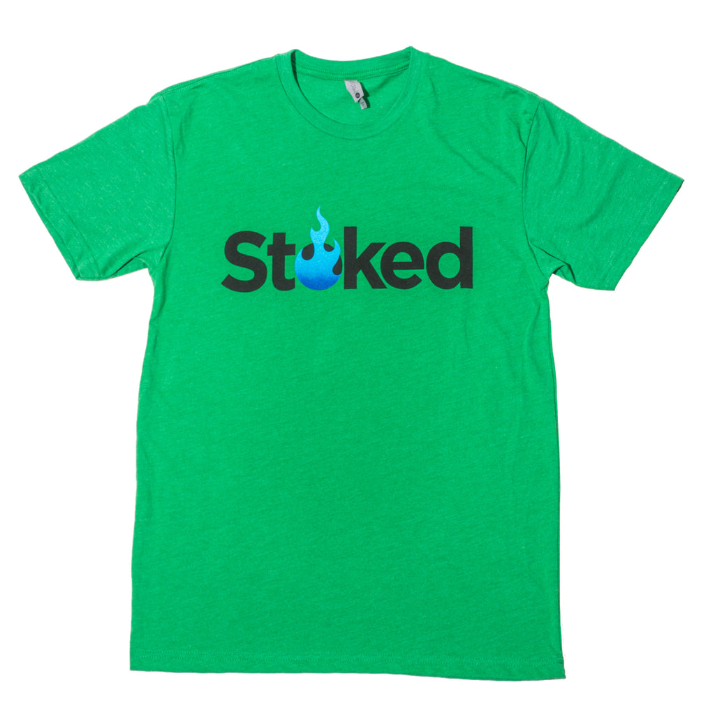 Stoked Provisions - Kelly Green T-Shirt
