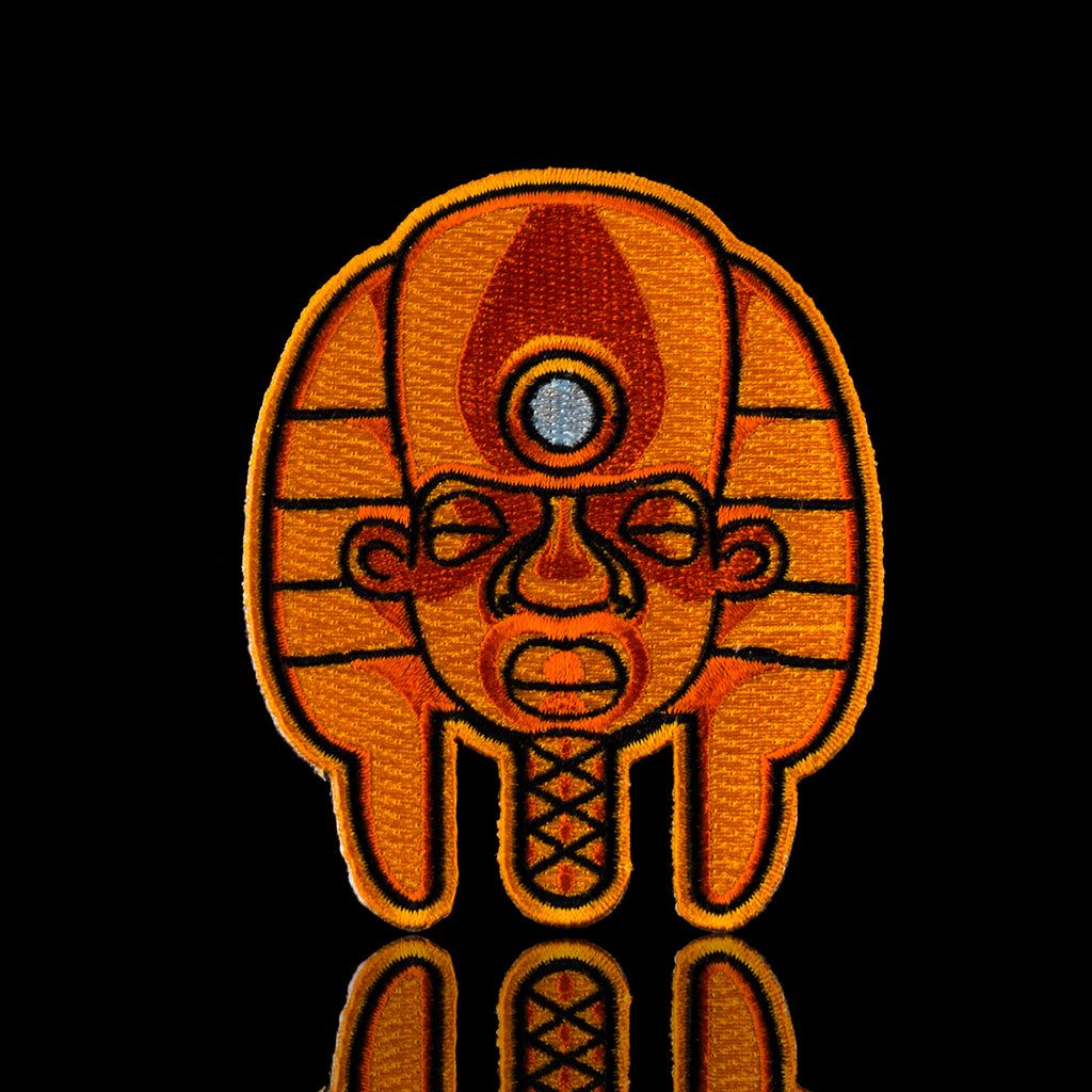 "Danny Camp ""Return Of The Tut"" Exclusive Orange Tut Patch"