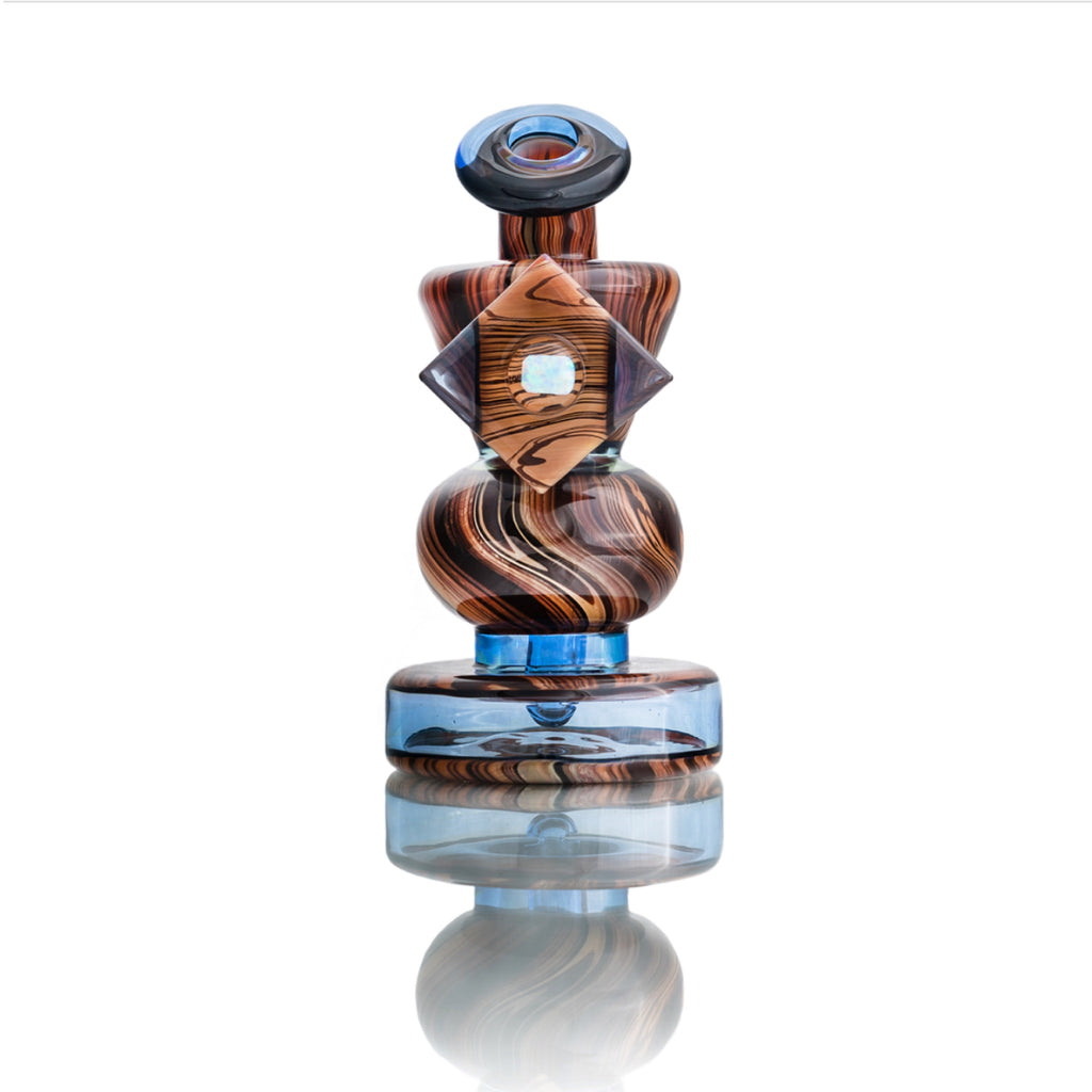 Blitzkriega x EF Norris Woodgrain and Blue Dream Rig w* Pelican #4 deposit