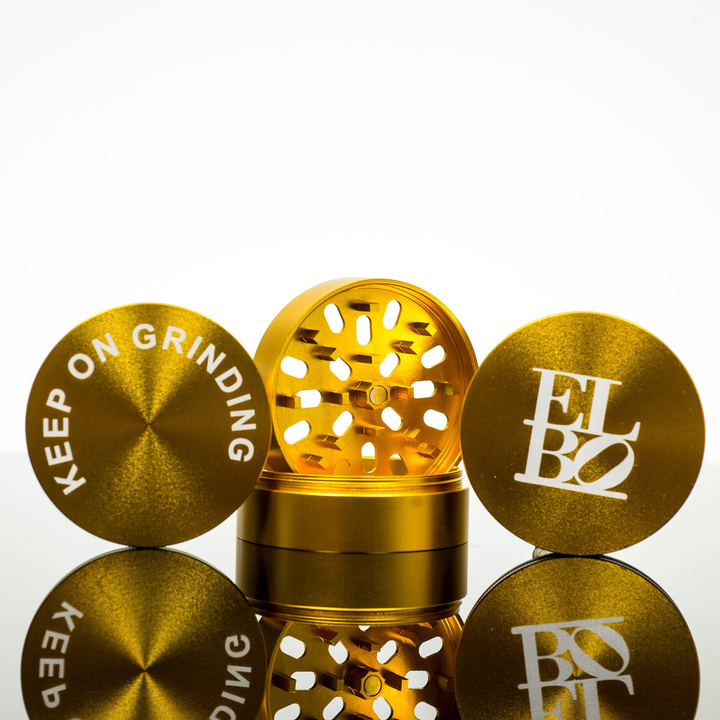 Elbo - Gold Luxury Grinder