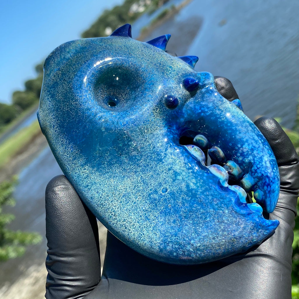 Pubz - Rare Blue Lobster Claw Dry Pipe