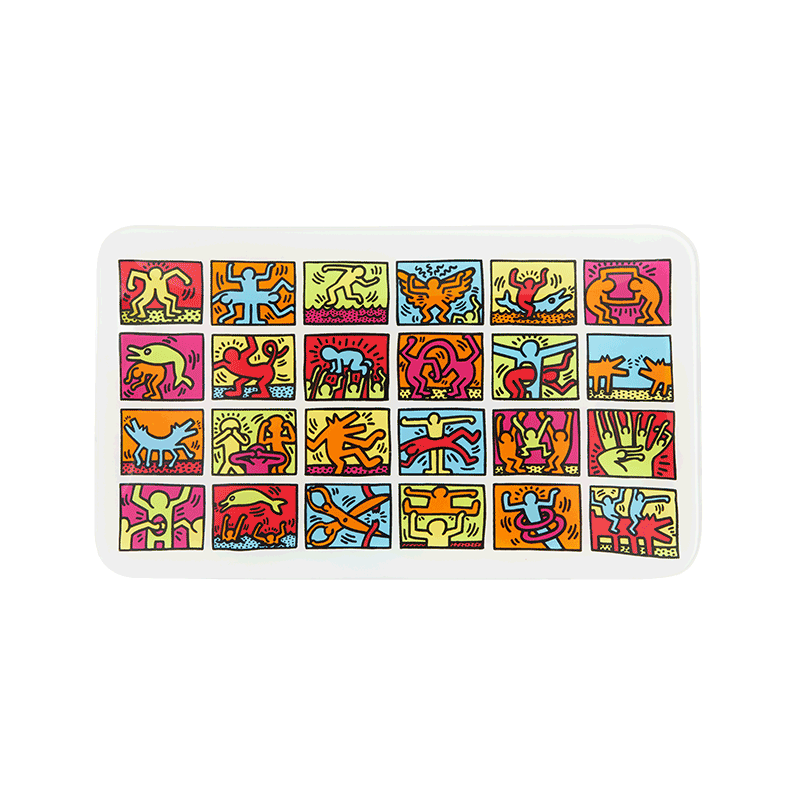 K. Haring Grid Rolling Tray