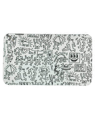 K. Haring Black & White Rolling Tray
