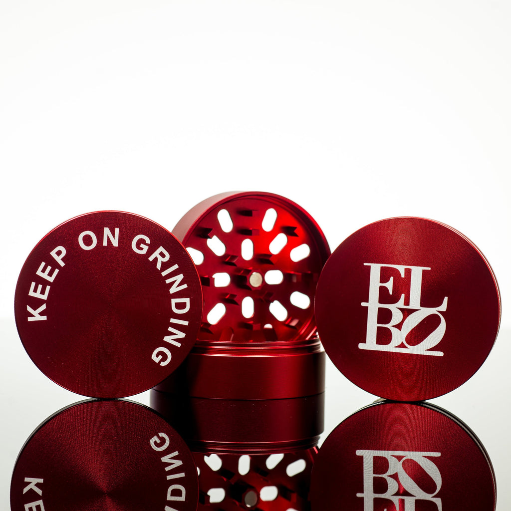 Elbo - Red Luxury Grinder