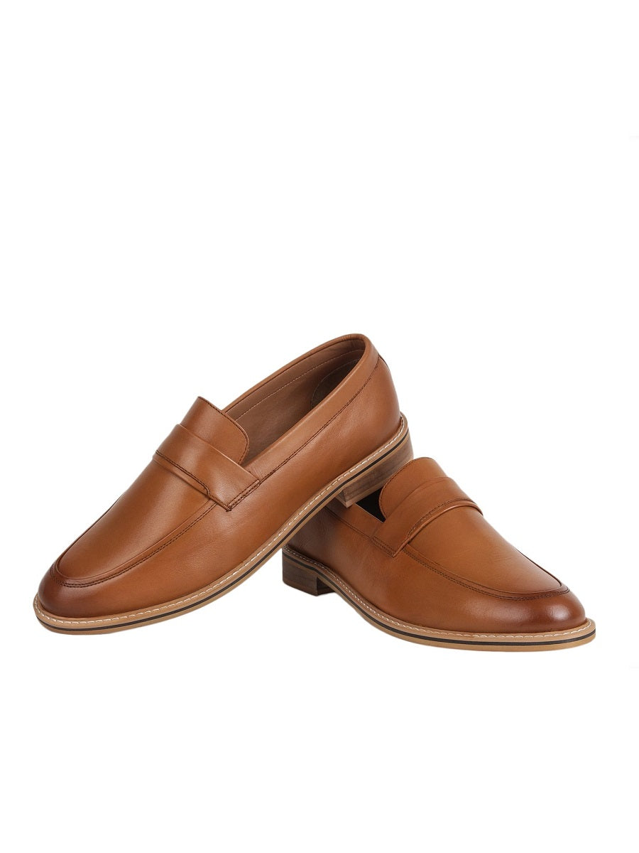 The Noble Tan Loafer