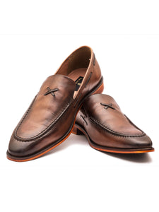 The Sublime Tan Tapered Loafer