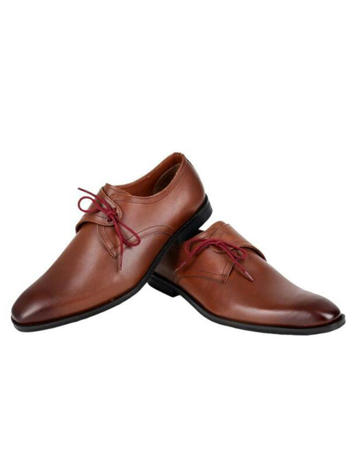 The Charismatic Tan Lace Ups