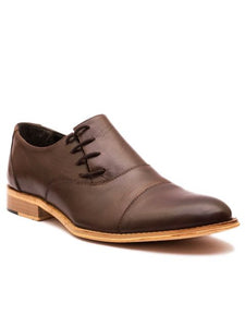 The Valiant Cap Toe Side Lace Oxford