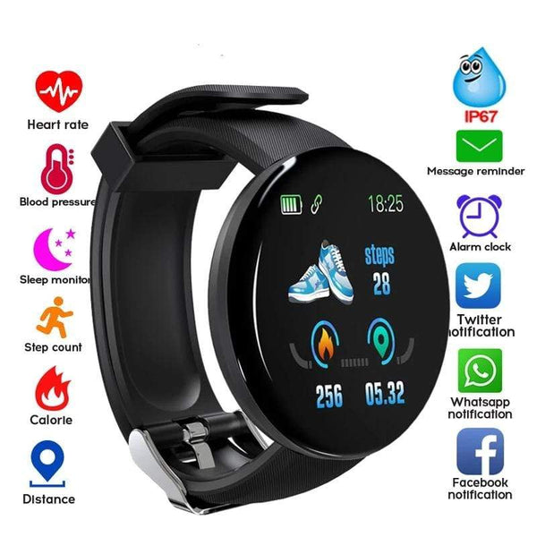 2019 Limited Edition Sporthorloge Smartwatch Fitness Healthwatch Korting