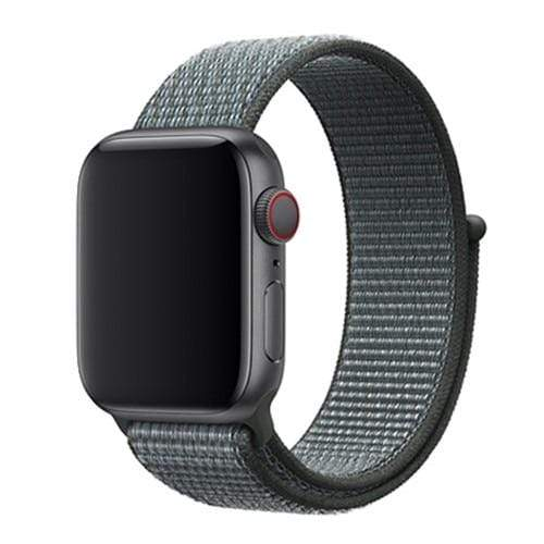 Apple Smartwatch bandje voor model 4 3 2 en 1 in verschillende kleuren Apple Watch NEW Storm Gray / 38mm / 40mm Korting