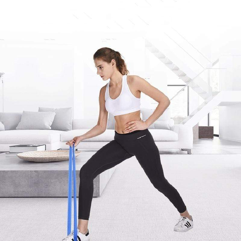Fitness Elastiek- Resistance Power Band - Weerstandsbanden Set 5