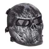 Paintball Halloween Masker - Party Mask - Schedel Masker - Indigo Markt