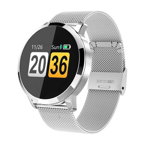 Smartwatch - Limited Edition Q8+ Executive healthwatch Korting