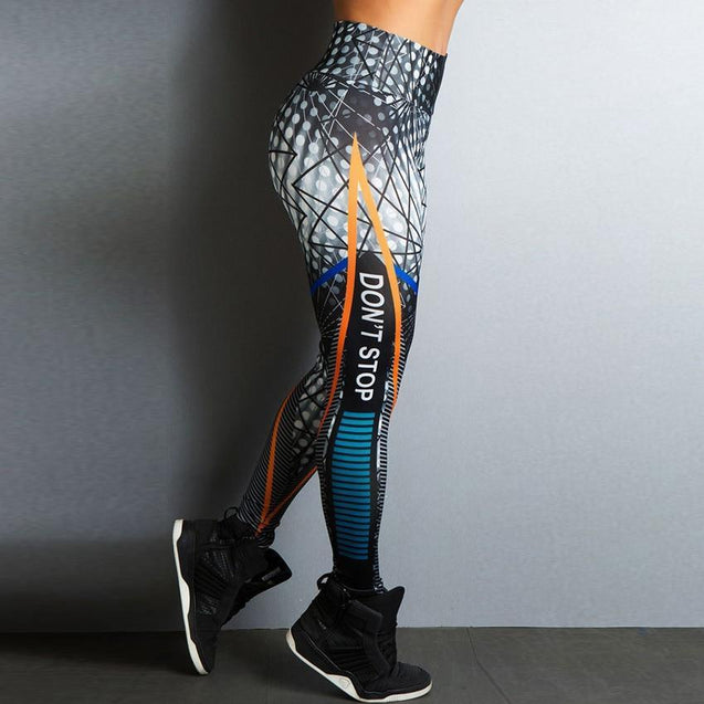 Sport Legging High Waist Push-up 2019 - Sportlegging High Waist - Fitnesslegging Stijl 1 / L Korting