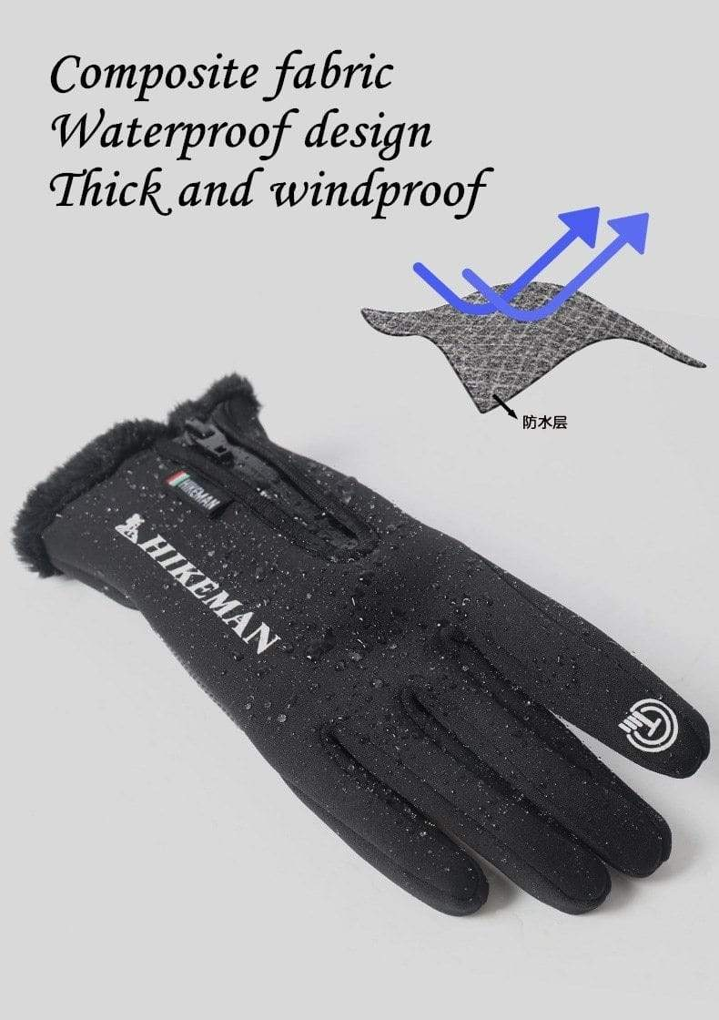 Water & Windproof Thermische Touchscreen Handschoenen - Indigo Markt