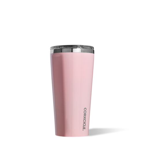 Gloss Rose Quartz Tumbler 16oz