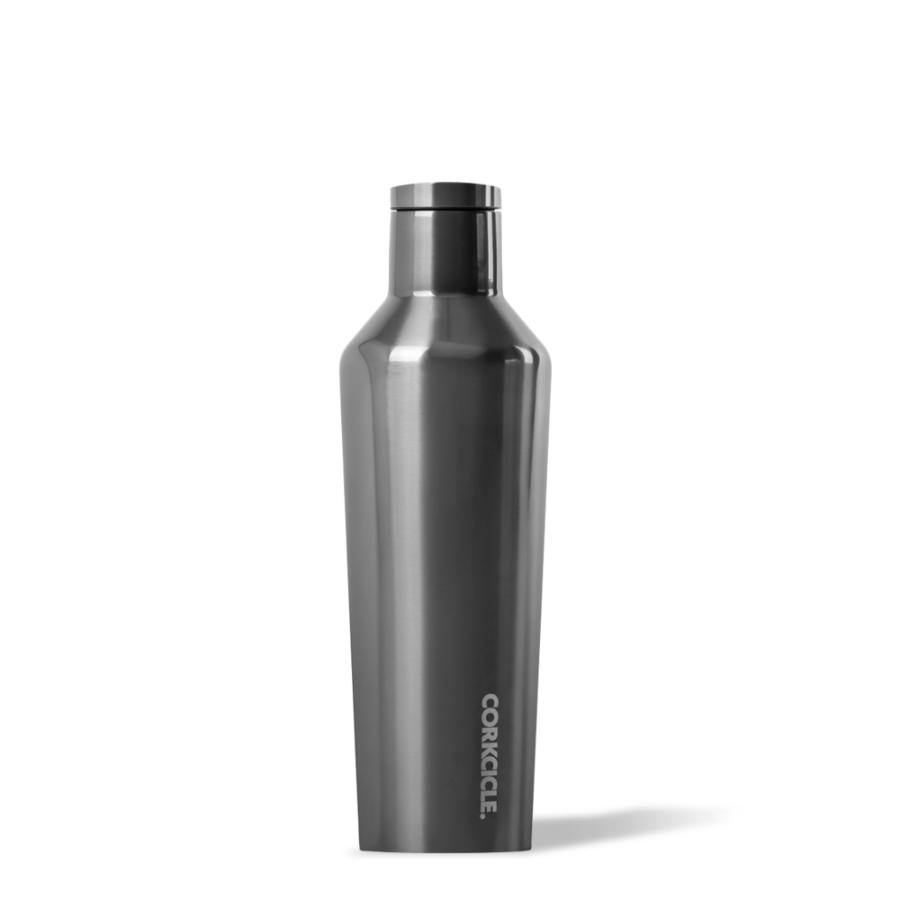 Metallic Gunmetal Canteen 16oz