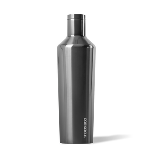 Metallic Gunmetal Canteen 25oz