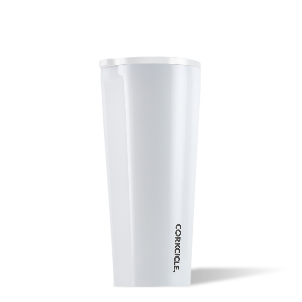 Dipped White Tumbler 24oz