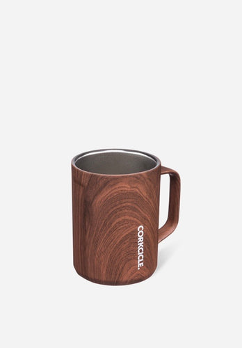 Walnut Wood Coffee Mug 16oz