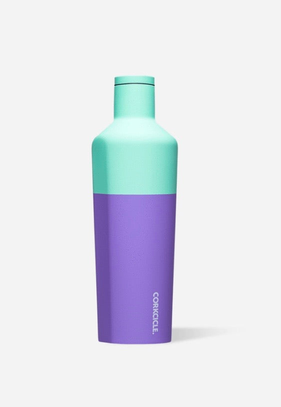 Mint Berry Color Block Canteen 25oz