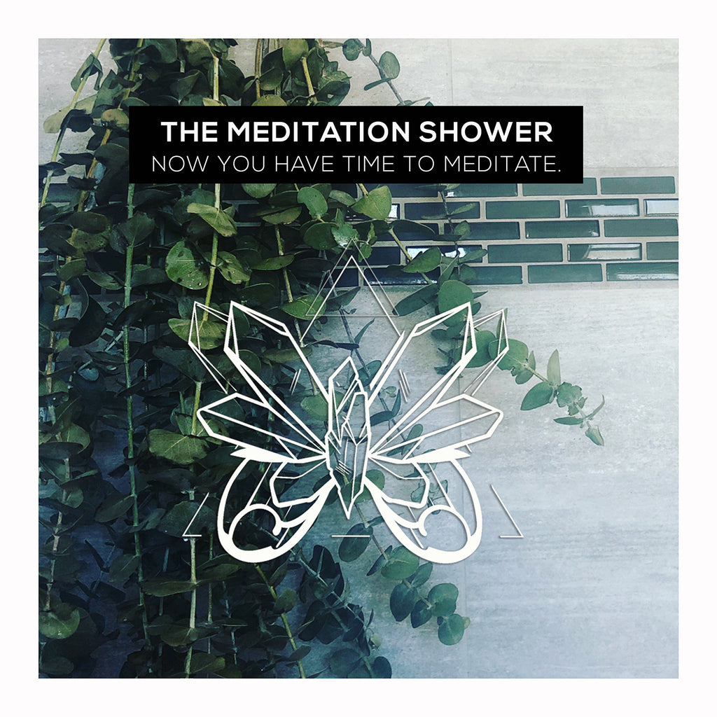The Meditation Shower. Now you have time to meditate.