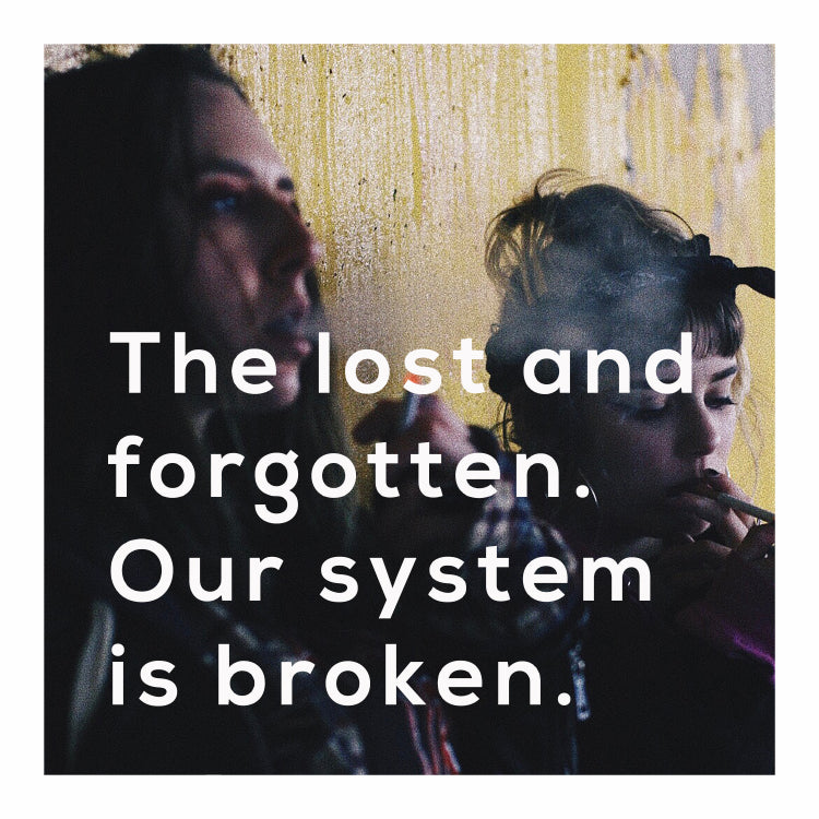 The lost and forgotten. Our system is broken.