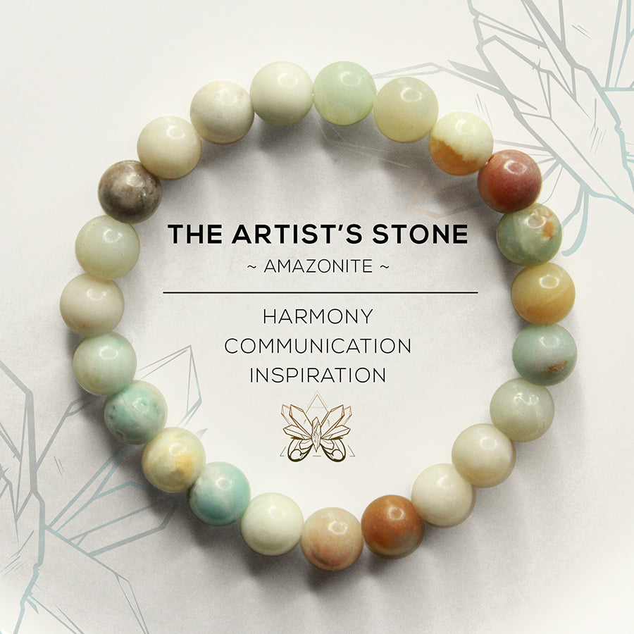 The Artist's Stone Bracelet - Crystalline Tribe