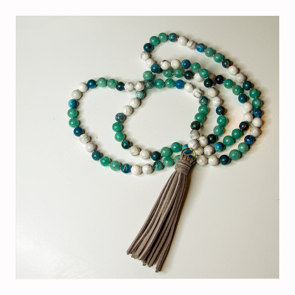 Calm Water Mala - Crystalline Tribe