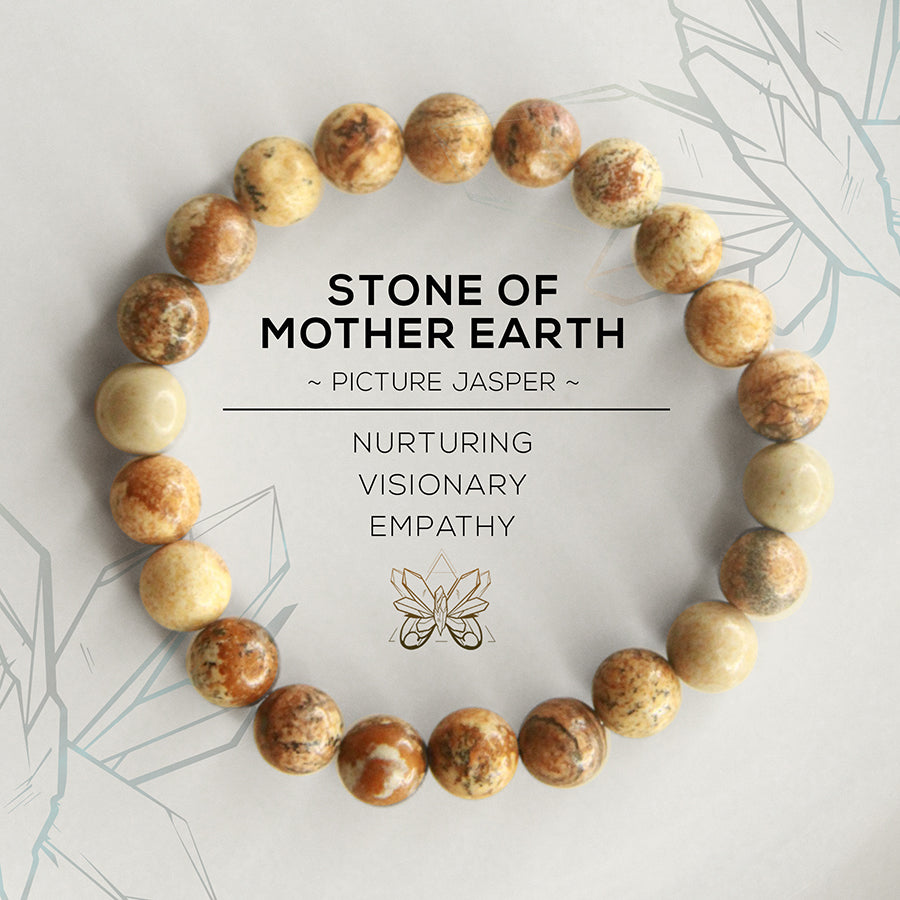8855277beddb1c Stone of Mother Earth Bracelet - Crystalline Tribe