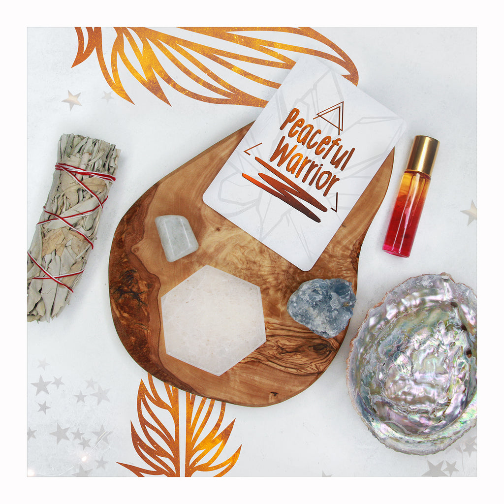 Peaceful Warrior Kit - Crystalline Tribe