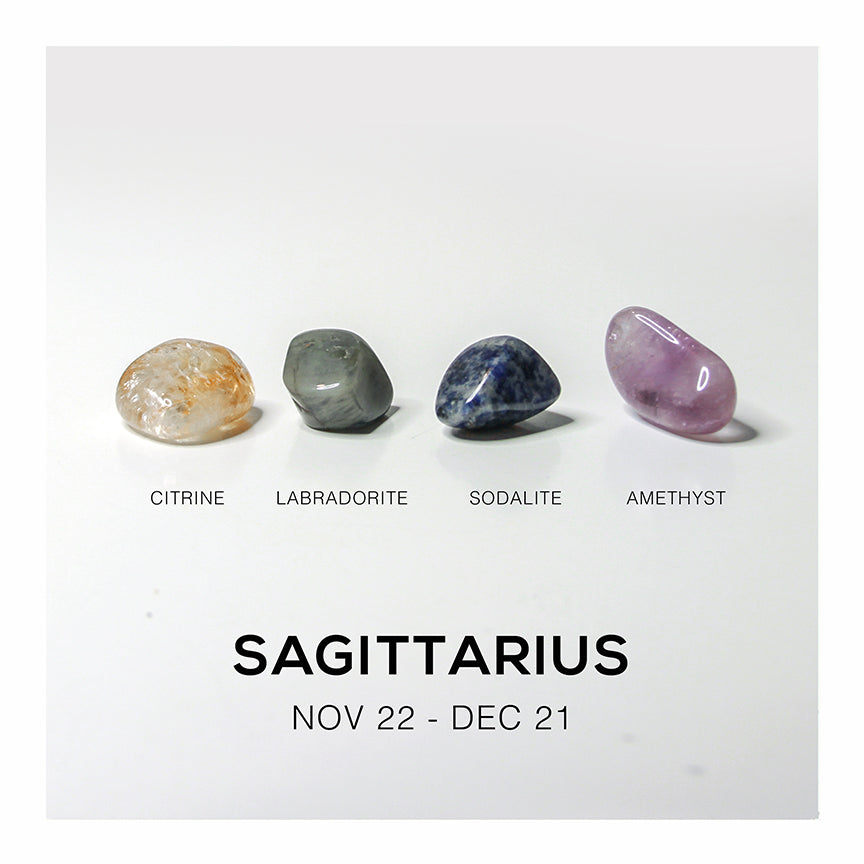 Sagittarius Crystal Set - Crystalline Tribe