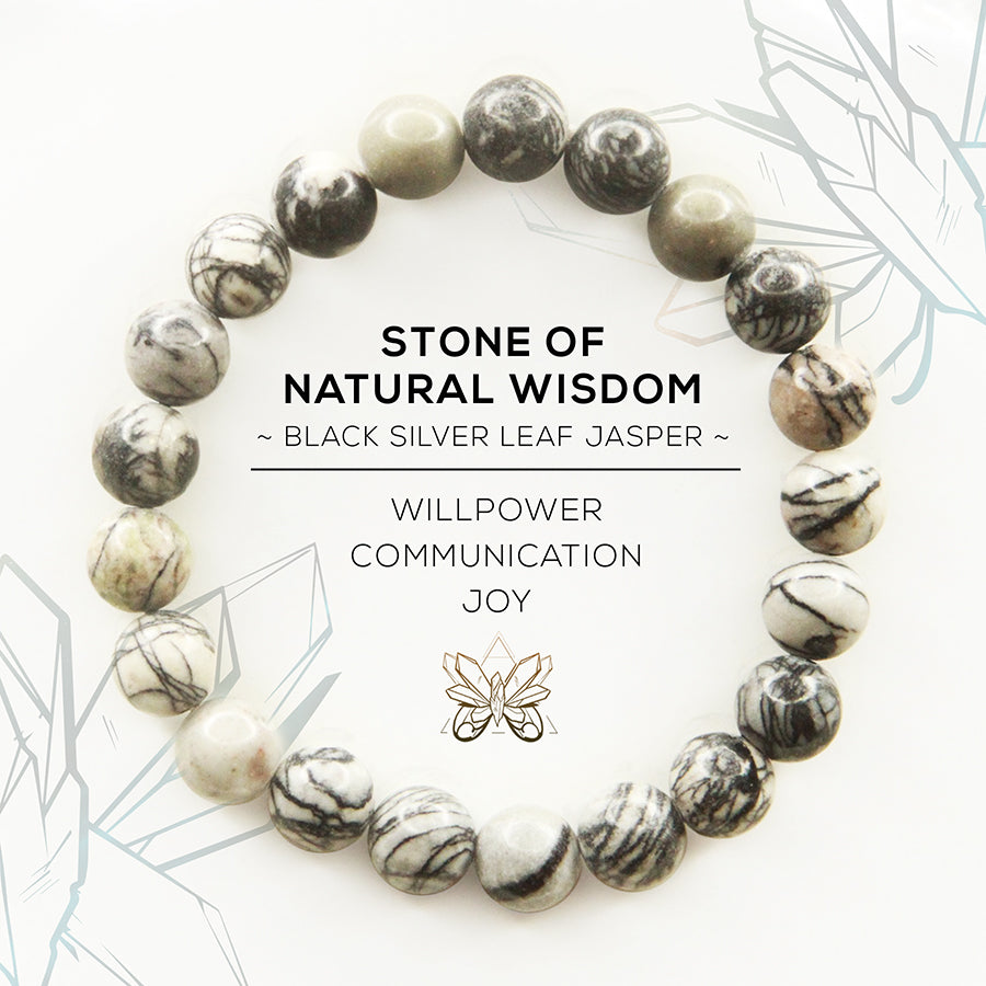 Stone of Natural Wisdom Bracelet - Crystalline Tribe