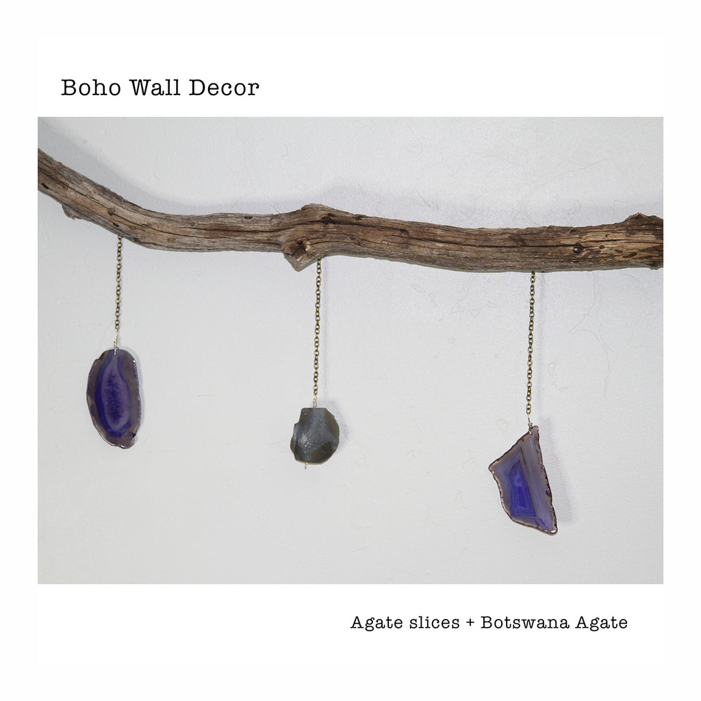 Agate Wall Decor - Crystalline Tribe