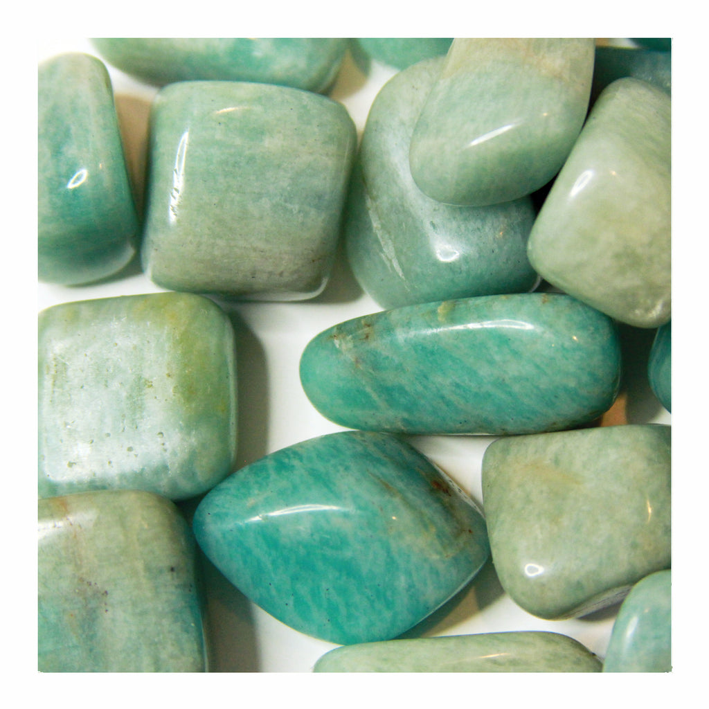 Amazonite - Tumbled Stones - Crystalline Tribe
