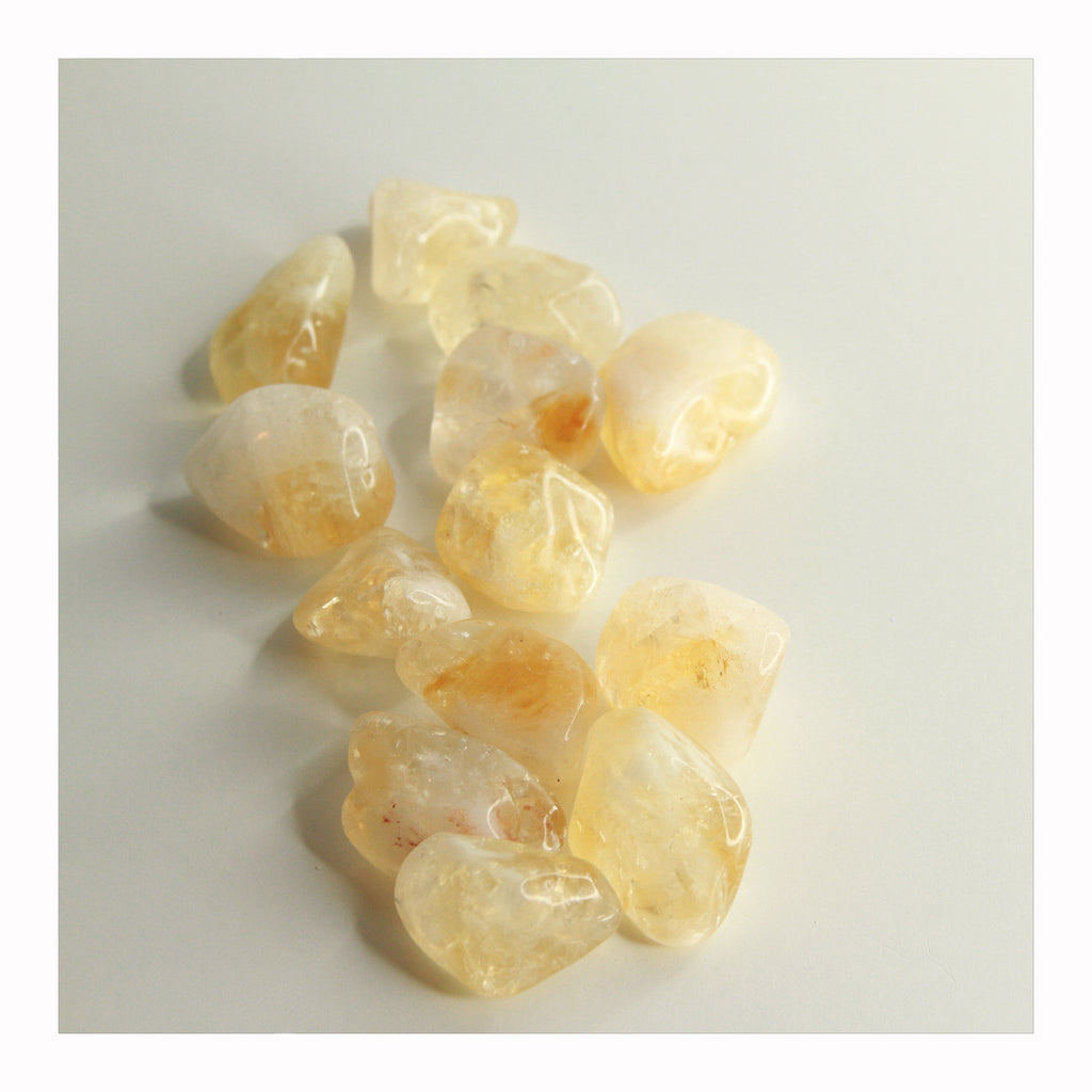Citrine - Tumbled Stones - Crystalline Tribe