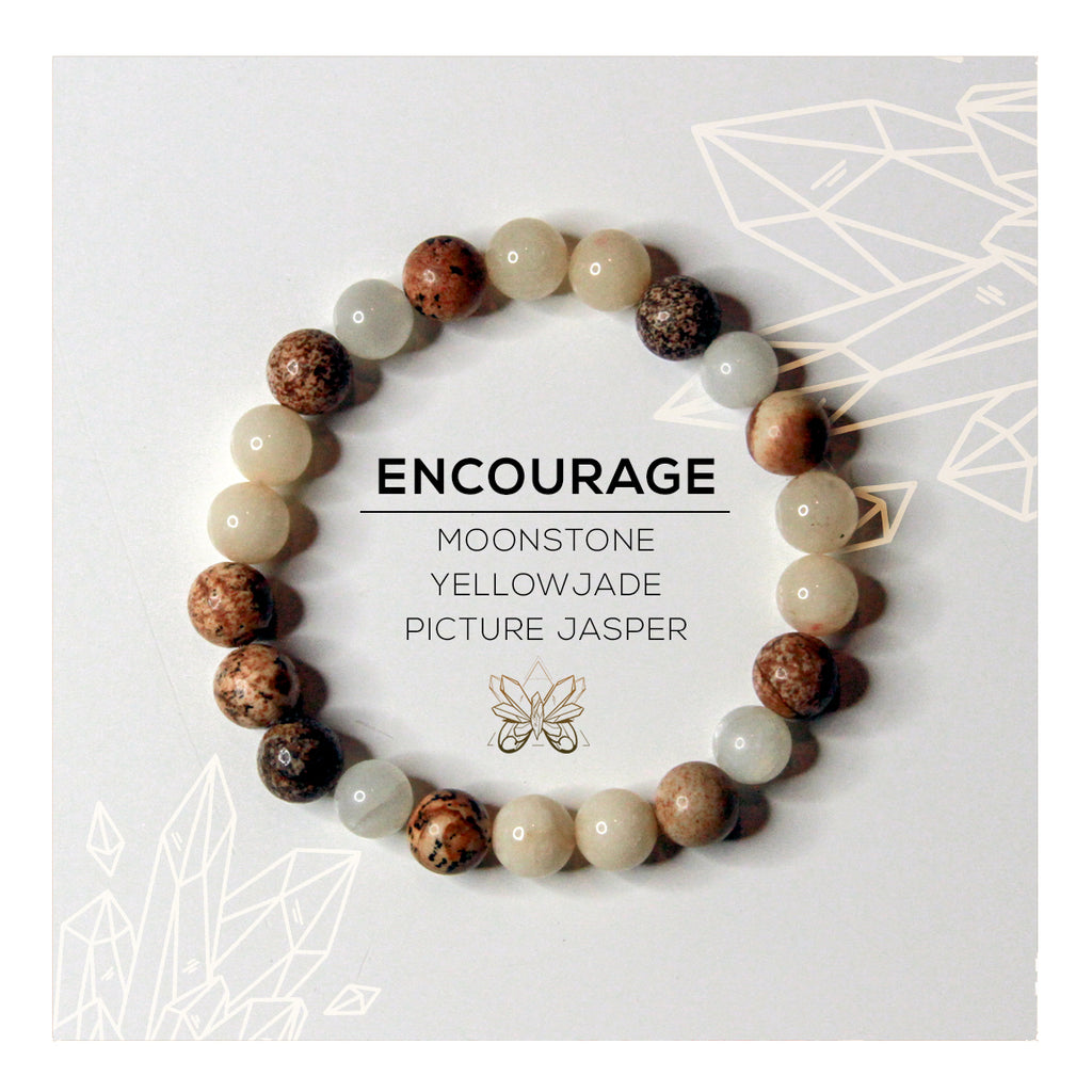 """Encourage"" Bracelet - Crystalline Tribe"