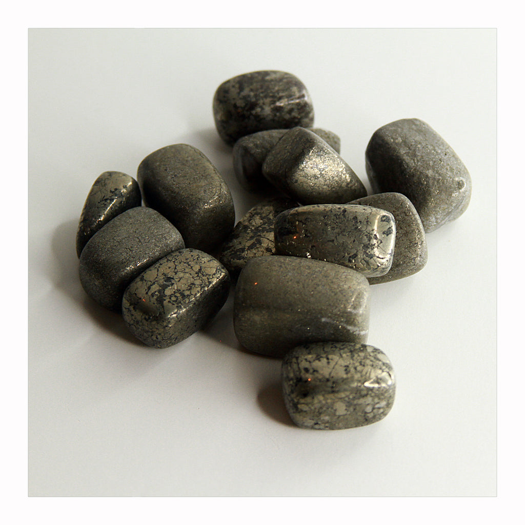 Pyrite - Tumbled Stones - Crystalline Tribe